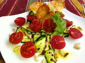 Insalata Zucchine Pomodori