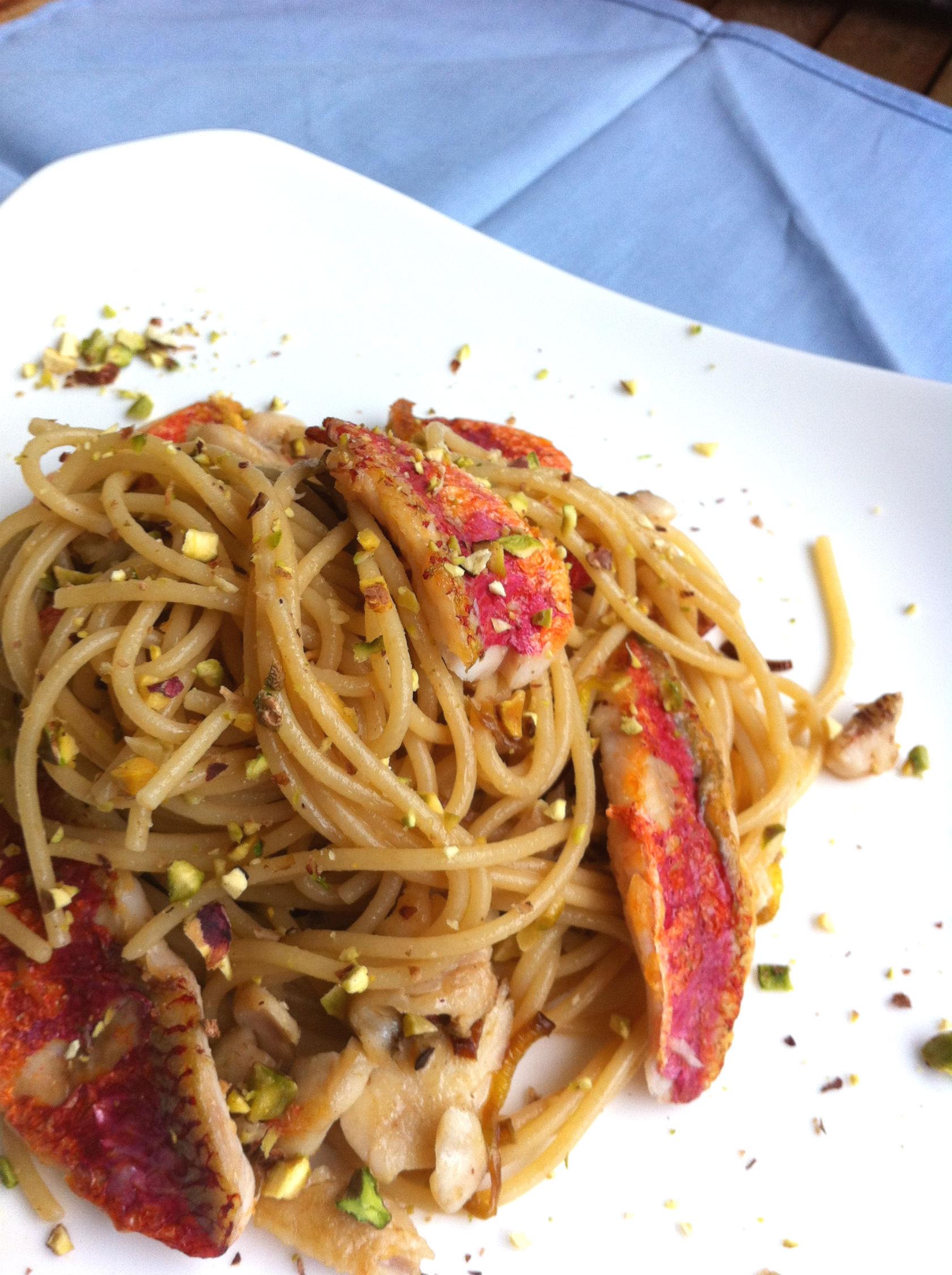 Ricette di pasta con le triglie