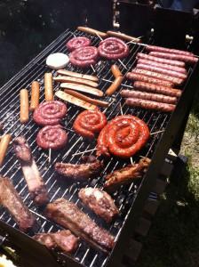 griglia con carne