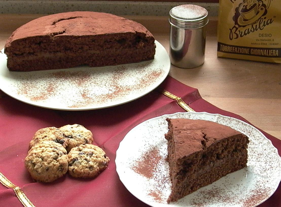 Ricetta torta ripiena al cioccolato