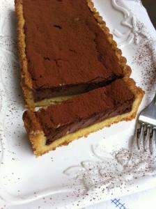 Crostata di cioccolato e ricotta