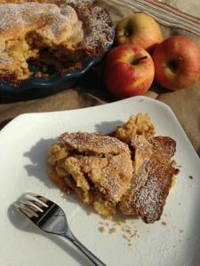 Crostata morbida mele e amaretti