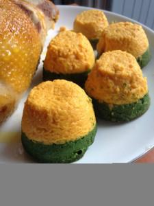 Tortini bicolore
